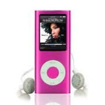 New Slim 32GB 1.8 LCD 4th Gen Mp4 FM Radio Video Player (Pink) - $38.88
