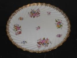 "Vintage COPELAND T. Goode & Co London Floral Design 9.5"" Luncheon Plate - $99.00"