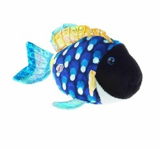 Lil'Kinz Mini Plush Stuffed Animal Blue Triggerfish - $10.69