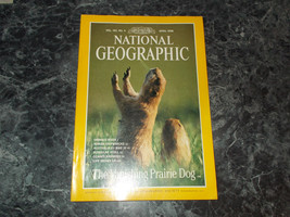 National Geographic Magazine April 1998 Prairie Dog - $2.99