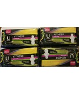 4 U By Kotex Fitness Pad Ultra Thin Heavy Flow Custom Shape For Exercise... - $27.90
