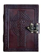TUZECH Leather Journal Diary with Engraved (Cross 2) - $19.59