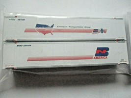 Fox Valley Models # FVM 891303 BN-ATSF-ATG 48' Container 2/Pack  N-Scale image 1