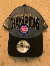 Brand New Chicago Cubs 2016 World Series Champions Hat Cap New Era 39 Th... - $13.92