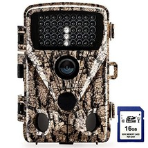 Foxelli Trail Camera – 20MP 1080P HD Wildlife Scouting Hunting Camera with Motio