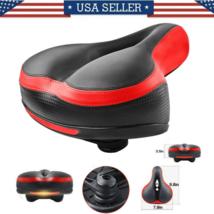 Comfort Wide Big Bum Soft Gel Cruiser Bike Saddle Bicycle Seat Air Cushi... - $55.00