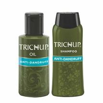 Trichup Anti-Dandruff Oil (100ml) + Anti-Dandruff Shampoo (200 ml) Combo - $19.46