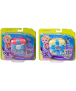 Polly Pocket Hidden Hideouts Mermaid Cove with Unicorn Utopia Bundle pla... - $12.95