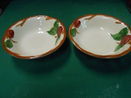 "-Magnificent FRANCISCAN  ""Apple"" Pattern ..Set of 2 BERRY BOWLS 5.5"" - $7.51"