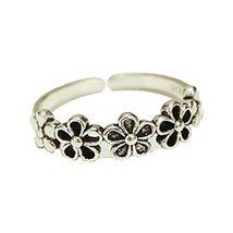Elegant Flowers Ladies Ring Tail Ring Open Ring Women Jewelry Accessories, 1 pie