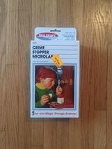 Vintage 1988 Skilcraft Fingerprint Microlab Kit game- NEW complete set