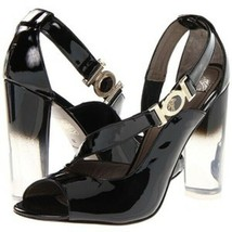 Versace Collection Vernice Nero Pumps Shoes 40 US 10 NWT $645 - $299.99