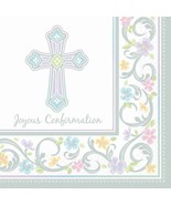 Blessed Day 36 Joyous Confirmation Luncheon Value Pack Napkins - $8.35