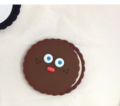 Brunch Brother popped Eye Handheld Mirror Makeup Hand Mirror (Choco Pompom) image 2