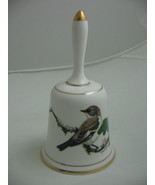 1981 Bone China Garden Bird Bell Terence Lambert Pied Flycatcher Royal D... - $16.83