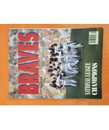 Atlanta Braves 1992 Yearbook ~ National League Champs ~ Smoltz, Glavine,... - £2.98 GBP