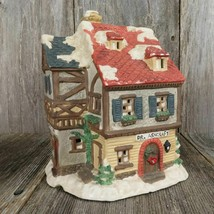 Vintage Lighted Doctor's Office Christmas Village Square Mervyn's Physician 1993 - $71.27