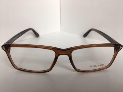 New Tom Ford TF 0854  960 56mm Brown Rectangular Eyeglasses Frame