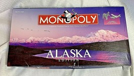 Alaska Edition Monopoly Board Game Usaopoly USA Great Land State 2003 - $24.99