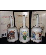1976 77 and 78 Authentic Art of Berta Hummel Bells W Germany Schmid Xmas... - $19.99