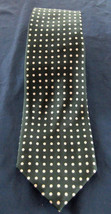 NWT Polo Ralph Lauren Green with White Polka Dot Silk Tie - $74.25