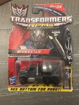 Transformers RPMS Mixmaster Decepticons Mini Action Figure Hasbro 2009 - $9.49