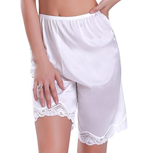 Women's Slip Shorts 2XLarge White