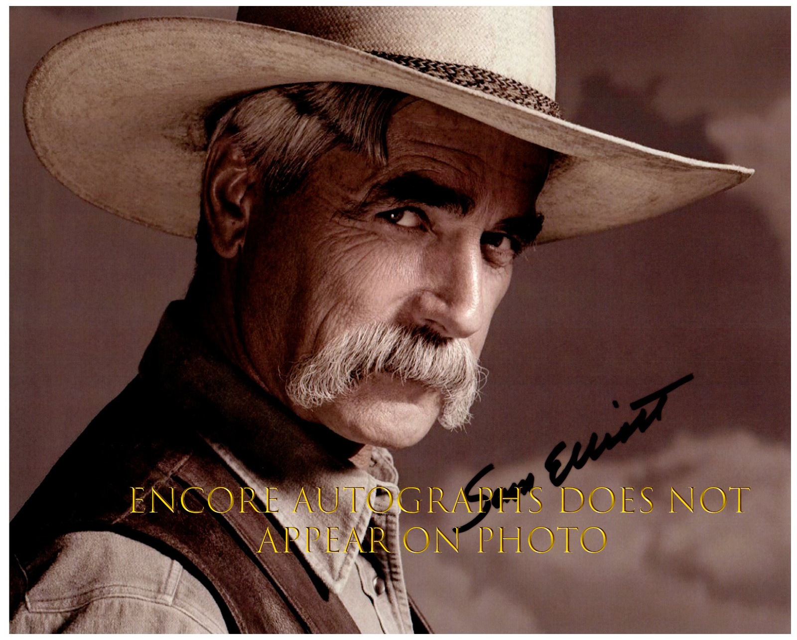 Primary image for SAM ELLIOTT Authentic Original  SIGNED AUTOGRAPHED 8X10 w/ COA
