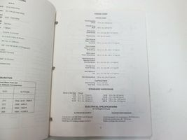 1984 1985 1986 Force Outboards 35 HP Outboard Motors Service Manual STAIN WORN** image 5