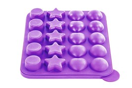 Nonstick Cake Pop Bakeware Set - Silicone Baking Molds Purple - $6.42