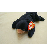 Ty Original Blackie The Bear Beanie Baby HandTag 1994TushTag1993 PVC Ret... - $1,435.49