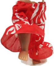 "(I20B35) Clothes American Handmade Red N Pants 18"" Inch Girl Doll  - $9.99"