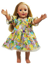 "Clothes American Handmade Pink N Dress 18"" Inch Girl Doll (45B4B34_17) - $19.99"