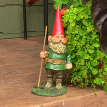 """Woody Jr. the Gnome 13.5"""" Tall by Sunnydaze Decor - $36.15"""
