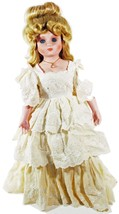 "Doll Porcelain Betty Jane Carter House of Global Art 1987 Rare 20"" Inch (B16B17) - $49.49"