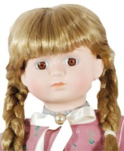 """Doll Hand Painted Porcelain 26"""" Braided Blond Hair (GB1) - $59.99"""