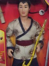 Male Action Figure Disney Mulan Captain Li Shang NIB (A4B49) - $39.59