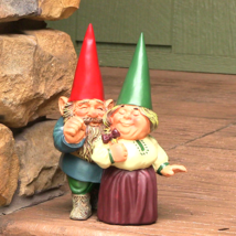 """Arnold and Sarah Get Married Gnome 8.5"""" Tall by... - $36.15"""