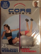 Exercise DVD Core Secrets Workout Full Body and Core Training Sealed New... - $6.64