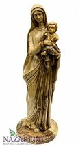Hand Carved Olive Wood Virgin Mary Holding Baby... - $318.15