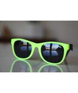 Classic Tortoise Sunglasses Neon Lemon Yellow/ Rubber/ Black/ Black Lenses - $14.00