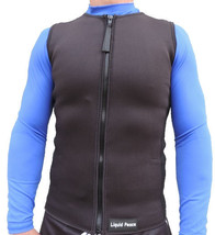Men's 2mm Neoprene Wetsuit Vest-Full Front Zipp... - $35.00