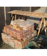 Garden Cobblestone Molds (12) Make Pavers Patios Walls Walks For Pennies... - $47.99