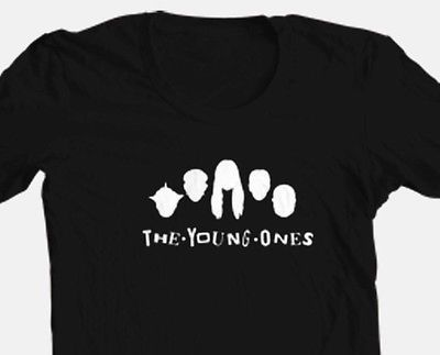 The Young Ones T shirt retro 80's British MTV show 100% cotton graphic tee