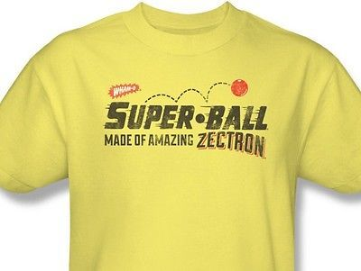 SUPER BALL T shirt retro 80's 70's toy Hula-Hoop graphic 100% cotton tee WMO111