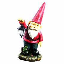 """Sammy the Solar Lantern Gnome 29"""" by Sunnydaze ... - $99.95"""