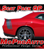 2016 Challenger SCAT PACK Quarter Panel Trunk 3M Vinyl Graphic Stripes D... - $90.92