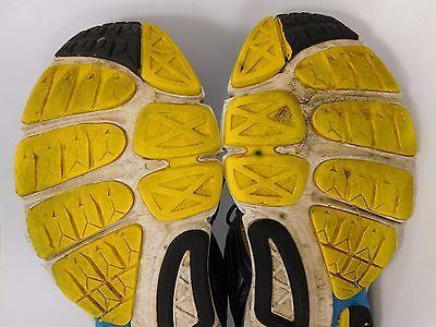 Saucony Omni 12 Men's Running Shoes Size US 9 M (D) EU 42.5 Silver Blue 20206-2