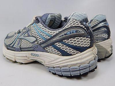 Brooks GTS 12 Women's Running Shoes Size US 7.5 M (B) EU 38.5 White Blue