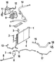 Genuine Mercedes-Benz Suction Hose 119-230-06-56 - $473.74